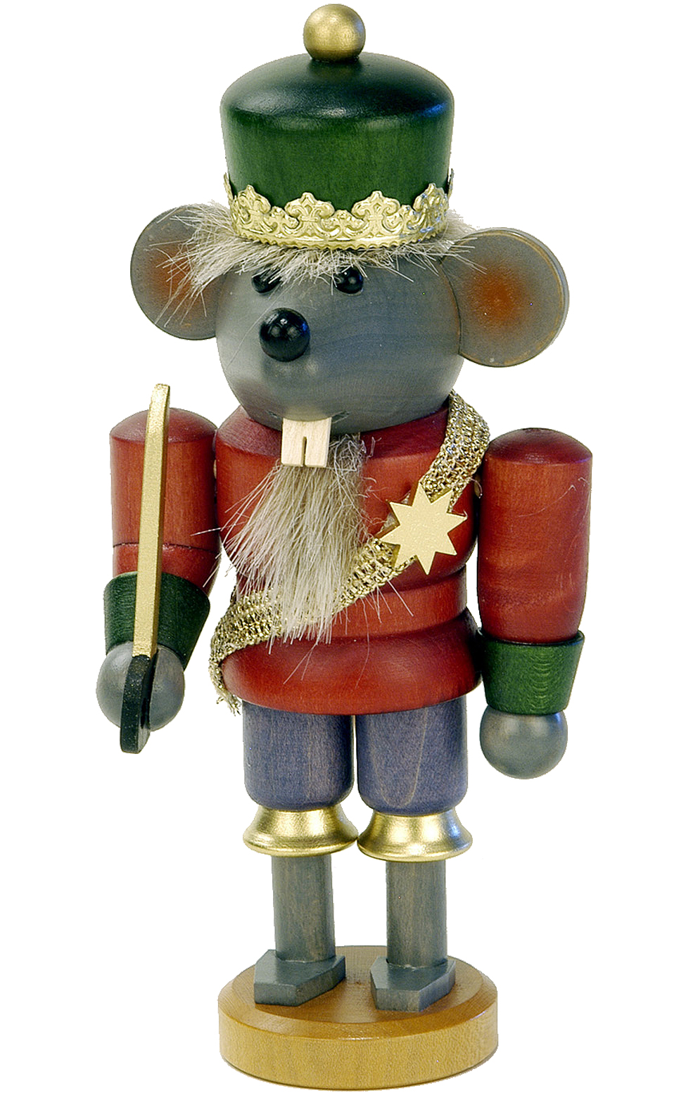 Nutcracker Mouseking - My German Christmas